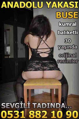 Anadolu Yakası Kumral Escort Buse